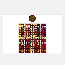 Enochian Fire Watchtower of t Postcards (Package o