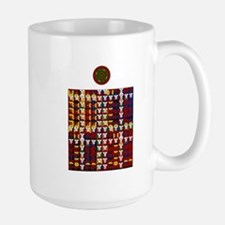 Enochian Fire Watchtower of t Large Mug