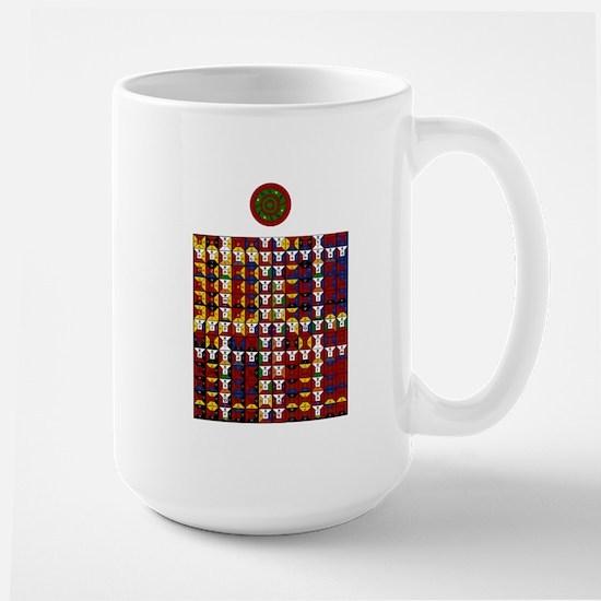 Enochian Fire Watchtower of t Large Mug
