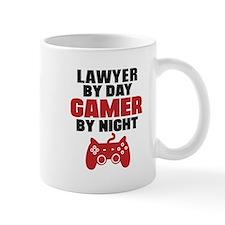 LAWYER BY DAY GAMER BY NIGHT Mugs
