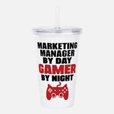 MARKETING MANAGER BY DAY GAMER BY NIGHT Acrylic Do
