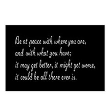 Be At Peace Postcards (Package of 8)