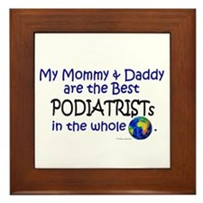 Best Podiatrists In The World Framed Tile