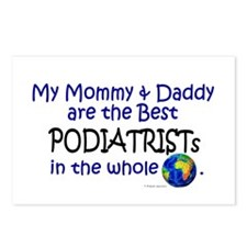 Best Podiatrists In The World Postcards (Package o
