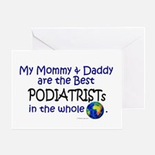 Best Podiatrists In The World Greeting Card