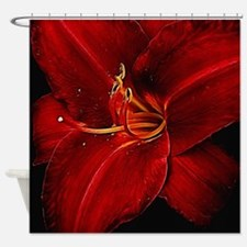 Cute Day lily Shower Curtain
