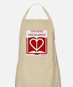 Love Banned Books Apron