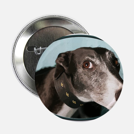 """Guilty Greyhound in Oval 2.25"""" Button"""