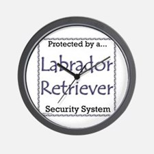 Lab Security Wall Clock