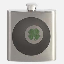 Cute Shamrock ball Flask