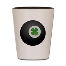 Unique Shamrock ball Shot Glass