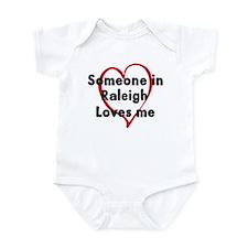 Loves me: Raleigh Infant Bodysuit