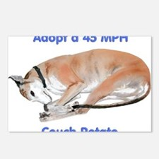 45 MPH Couch Potato Postcards (Package of 8)