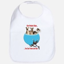 Greyhounds Like Potato Chips Bib
