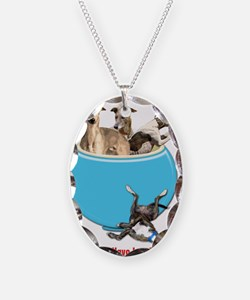 Greyhounds Like Potato Chips Necklace