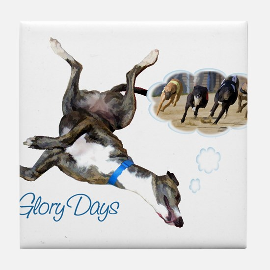 Glory Days Tile Coaster