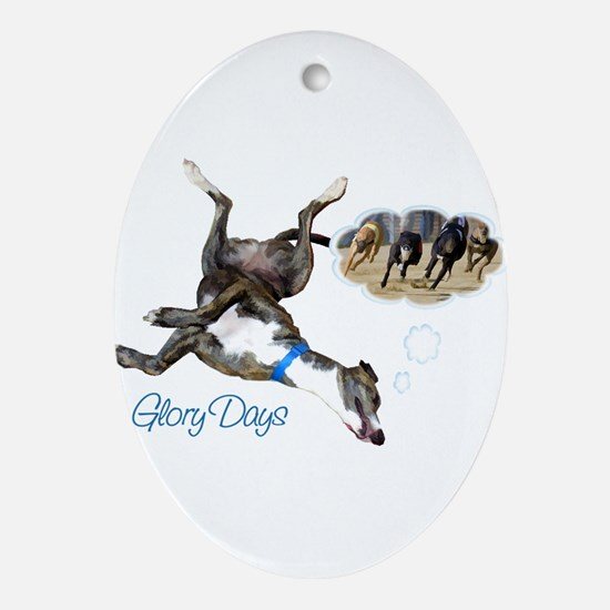 Glory Days Oval Ornament