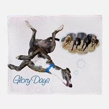 Glory Days Throw Blanket