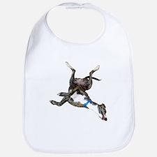 Cockroaching Greyhound Bib