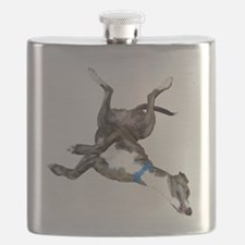 Cockroaching Greyhound Flask