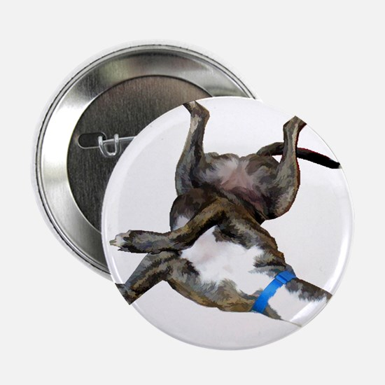 "Cockroaching Greyhound 2.25"" Button"