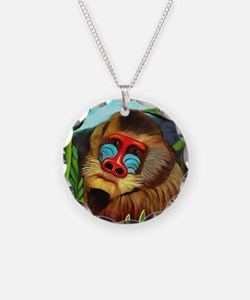 Henri Rousseau Mandrill In T Necklace