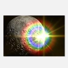 Sun Rise Over the Moon Postcards (Package of 8)
