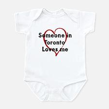 Loves me: Toronto Infant Bodysuit