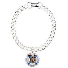 Greyhound in a Life Pres Charm Bracelet, One Charm