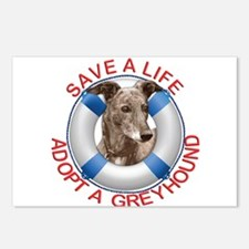 Greyhound in a Life Prese Postcards (Package of 8)