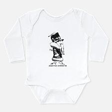 Cute Hercule poirot Long Sleeve Infant Bodysuit