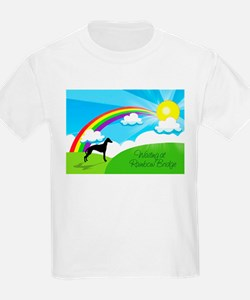 Waiting at Rainbow Bridge T-Shirt