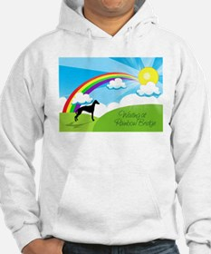 Waiting at Rainbow Bridge Hoodie