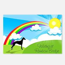 Waiting at Rainbow Bridge Postcards (Package of 8)