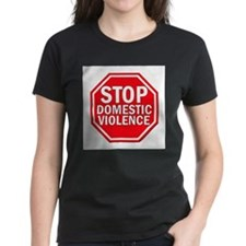 Cute Blue ribbon stop child abuse Tee