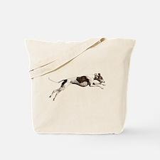 Run Like the Wind Tote Bag
