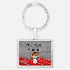Volleyball Animal Landscape Keychain Keychains