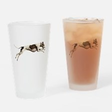 Run Like the Wind Drinking Glass