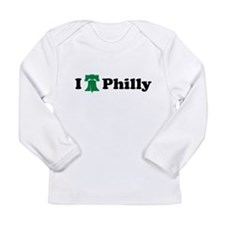 Cute I love phil Long Sleeve Infant T-Shirt