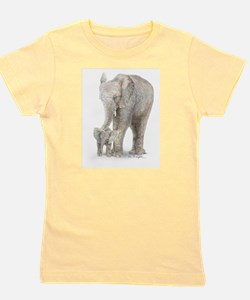 Cute Elephant Girl's Tee