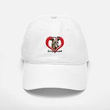I love my Greyhound logo Baseball Baseball Cap