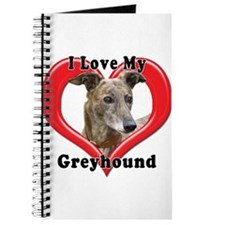 I love my Greyhound logo Journal