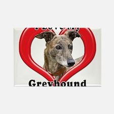 I love my Greyhound logo Magnets