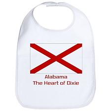Alabama State Flag Bib