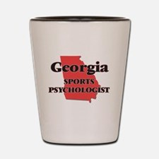 Georgia Sports Psychologist Shot Glass