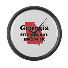 Georgia Structural Engineer Large Wall Clock