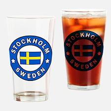 Stockholm Drinking Glass