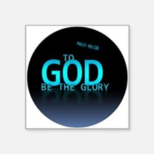 To God be the glory Sticker