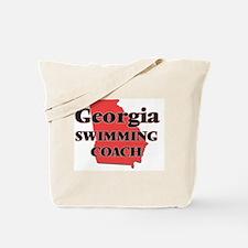 Georgia Swimming Coach Tote Bag