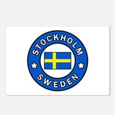Stockholm Postcards (Package of 8)